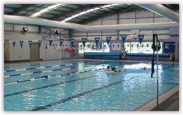 Image of multi-lane pool